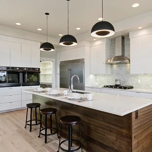 modern kitchen images tile floor ideas 75 most popular design for 2019 stylish inspiration minimalist l shaped light wood and beige photo