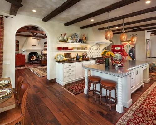 rugs for hardwood floors in kitchen valance patterns mediterranean santa barbara design ideas & remodel ...