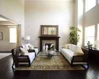 Rug On Dark Floor | Houzz