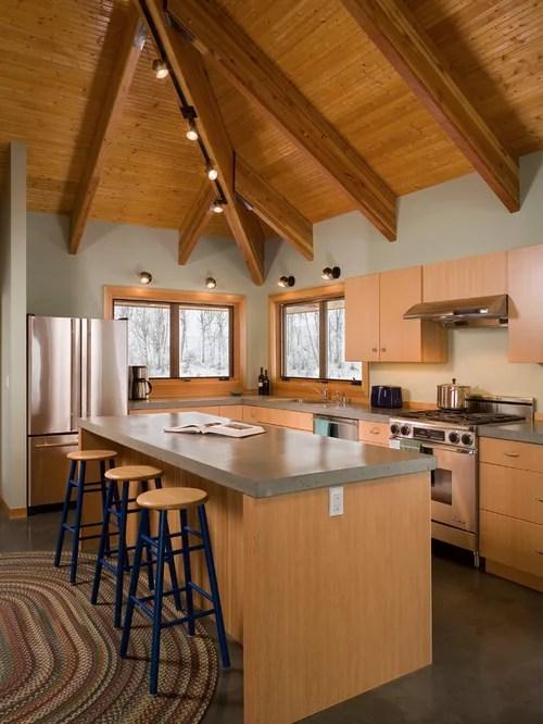 Best Polished Concrete Countertops Design Ideas  Remodel