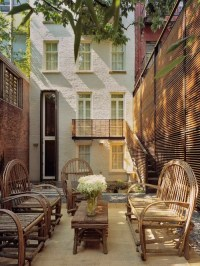 Townhouse Backyard | Houzz