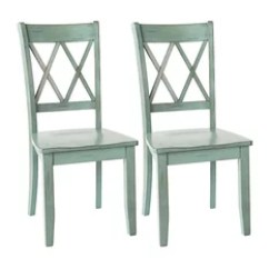 Farmhouse Dining Room Chairs Ikea Poang Chair Covers Ireland Mr Ira Peters Houzz Ashley Furniture Homestore Mestler Blue And Green Side Set Of