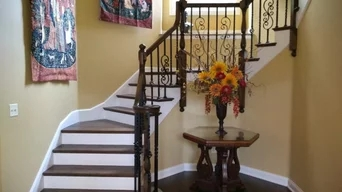 Best 15 Stair And Railing Contractors Near You Houzz | Outdoor Stair Contractors Near Me | Wood | Stair Railing | Metal | Trex | Spiral Staircase