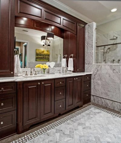 Traditional Bathroom by Case Design/Remodeling