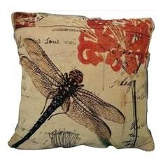 Lumbar Fl Cotton Pillow Cover Decorative Pillows