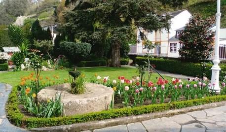 Jardín de la semana: 500 tulipanes al borde del Cantábrico