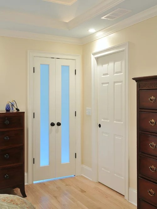 French Door To Bathroom  Houzz