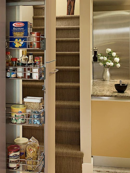 Pull Out Pantry Cabinet Houzz