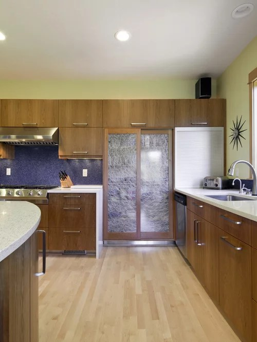 contemporary kitchen backsplash macy's towels flat panel cabinet doors | houzz