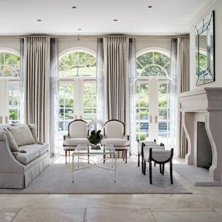 french provincial living rooms modern interior design room photos ideas houzz example of a large classic formal and open concept ceramic floor in los save photo westlake village