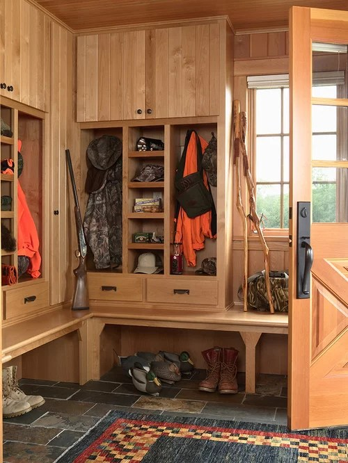 Best Hunting Storage Design Ideas  Remodel Pictures  Houzz
