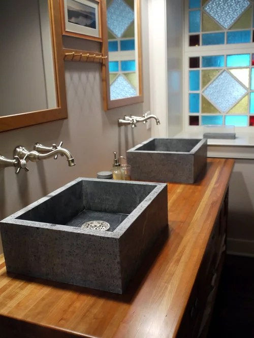 Above Counter Sink  Houzz