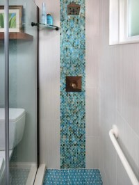 Tile Waterfall Ideas, Pictures, Remodel and Decor