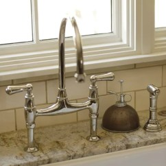 Bridge Faucets For Kitchen Redoing Houzz | Faucet Design Ideas & Remodel Pictures