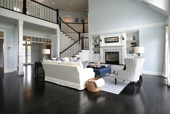 Victorian Living Room by Blondino Design, Inc.