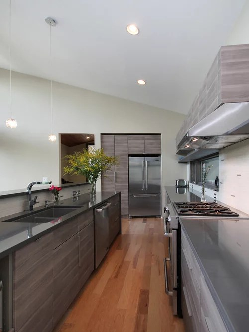 Gray Wood Cabinets Home Design Ideas Pictures Remodel