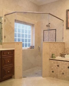 What Are Advantages Of Shower Door Vs Shower Curtain