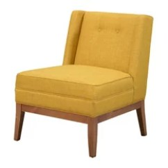 Accent Chair Yellow Lifts Stairs 50 Most Popular Armchairs And Chairs For 2019 Houzz Abbyson Living Oakley Mid Century Mustard
