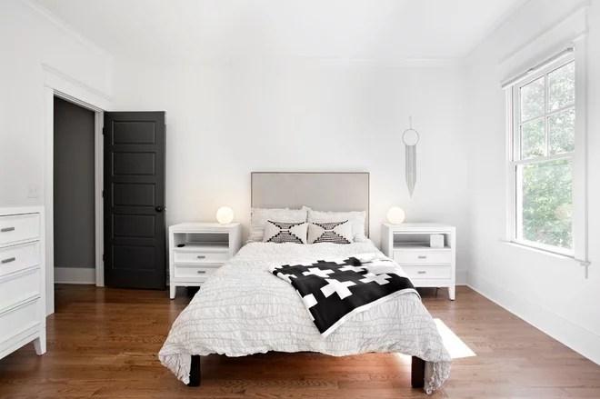 Midcentury Bedroom by Caroline Sharpnack