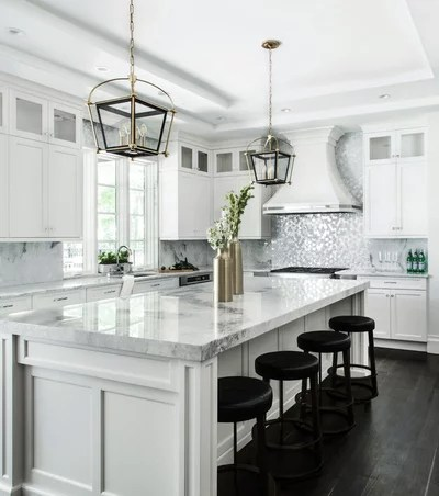 Transitional Kitchen by Signature Interior Designs