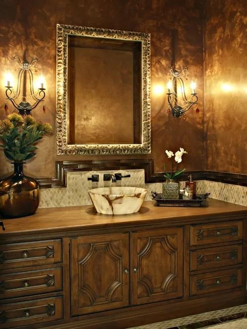 Gold Bathroom Houzz