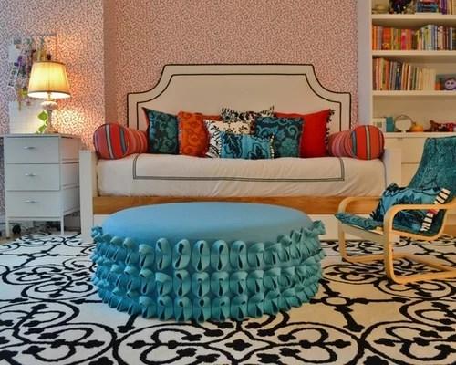 Teen Girl Bedroom One Wall Wallpaper Best Girls Room Wallpaper Design Ideas Amp Remodel Pictures