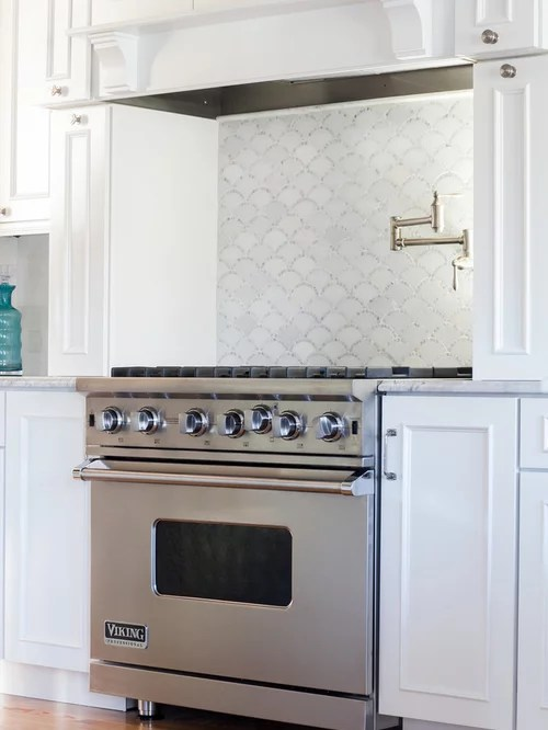 kitchen cabinets ct 3 hole faucet scalloped backsplash design ideas & remodel pictures | houzz