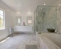 Carrara Marble Bathroom Home Design Ideas, Pictures ...