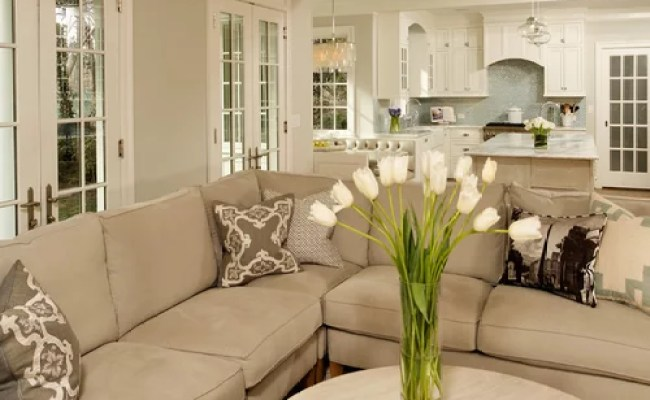 Gray And Beige Living Room Home Design Ideas Pictures