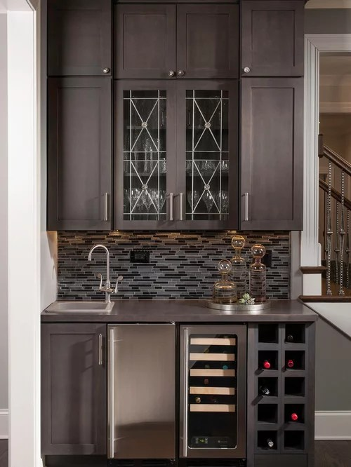 Wet Bar Cabinets Design Ideas  Remodel Pictures  Houzz