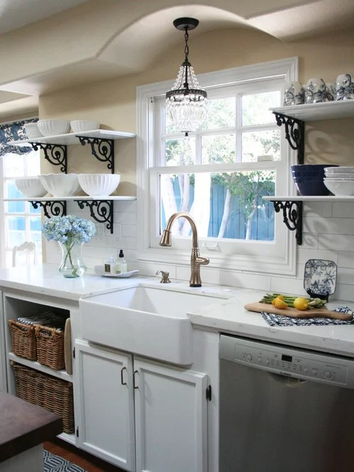 kitchen faucet stainless steel appliance packages home depot open shelving french country