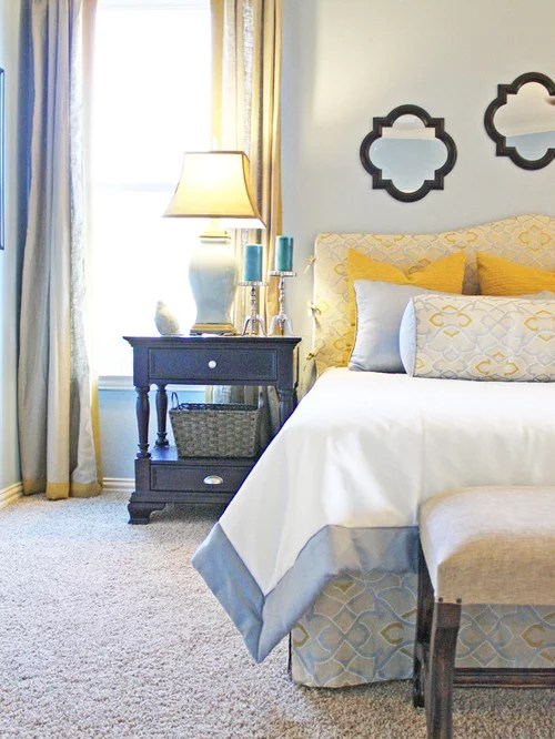 Blue And Yellow Bedroom Design Ideas Amp Remodel Pictures