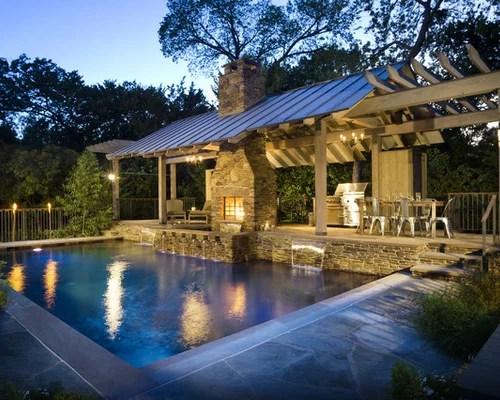 Rustic Pool House Ideas & Design Photos Houzz
