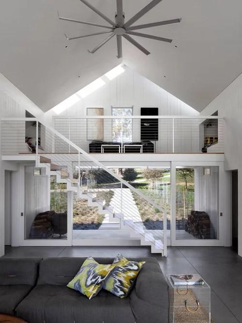 Best Steel Loft Railing Design Ideas  Remodel Pictures
