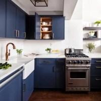 Blue Kitchen Cabinets | Houzz