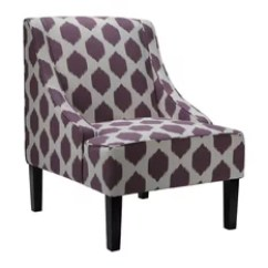 Purple Accent Chair Wooden Captains Chairs 50 Most Popular Armchairs And For 2019 Houzz Cortesi Home Celene