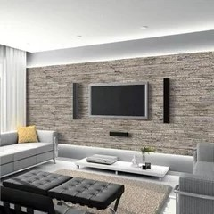 decorer un mur derriere une televiseur