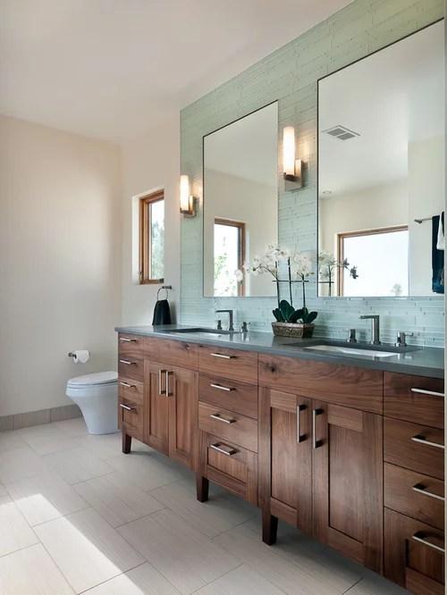dark bathroom vanity | houzz