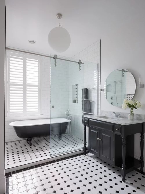 Victorian Bathroom Design Ideas Remodels  Photos