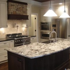 Espresso Shaker Kitchen Cabinets Commercial Wall Covering White Delicatus Granite | Houzz