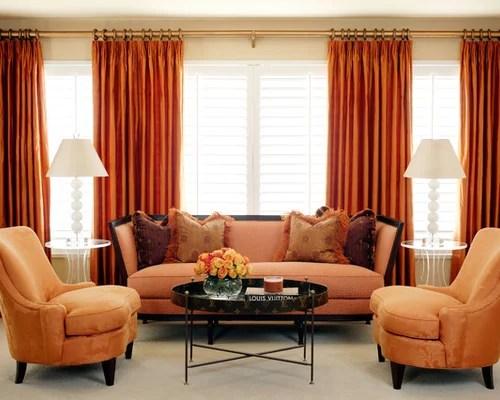 Best Orange Curtains Design Ideas & Remodel Pictures Houzz