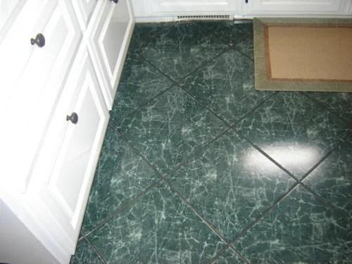 Green Marble Tile Flooring