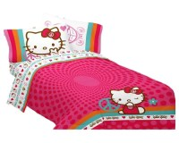 Hello Kitty Bedding and Room Decorations
