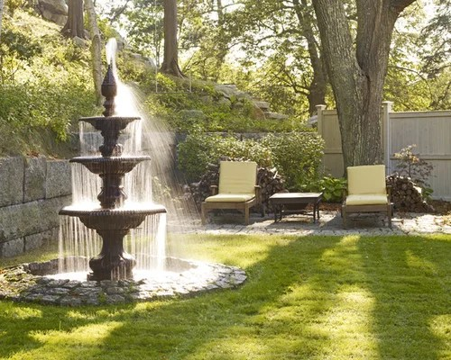 Outdoor Water Fountain Ideas Houzz