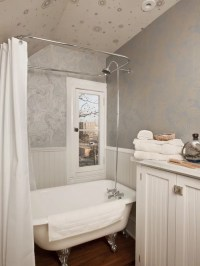 Best Small Bathroom Wallpaper Design Ideas & Remodel