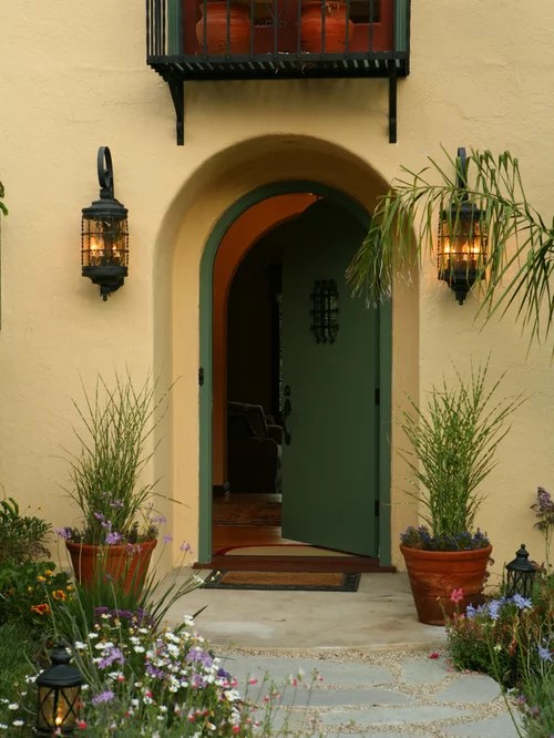 Single Story Home Design Spanish Colonial Revival Home Design Ideas, Pictures