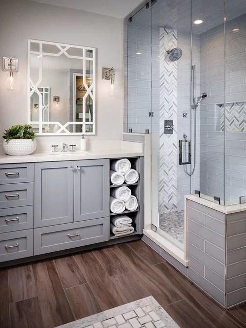 bathroom linen closet | houzz