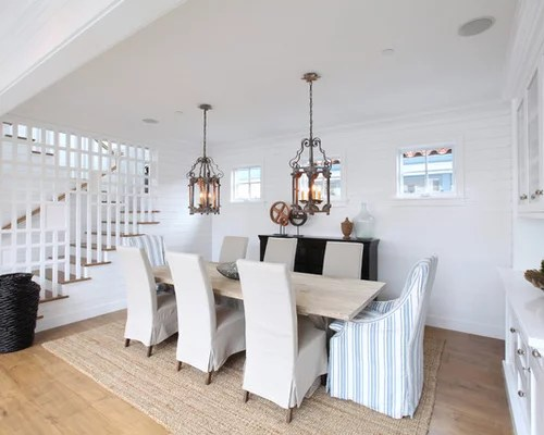Slipcovered Dining Chairs  Houzz