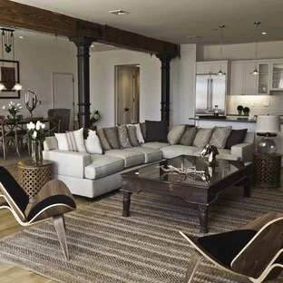 new york loft style living room brown furniture decorating ideas 75 most popular design for 2019 example of a large urban in with white