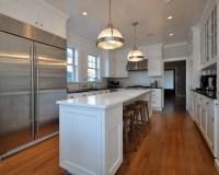 Long Narrow Kitchen Island   Houzz